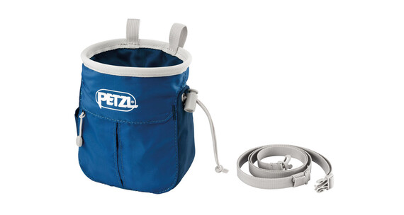 Petzl Sakapoche Chalk Bag Blue
